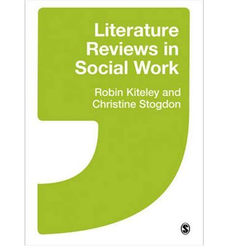 Literature review social problems